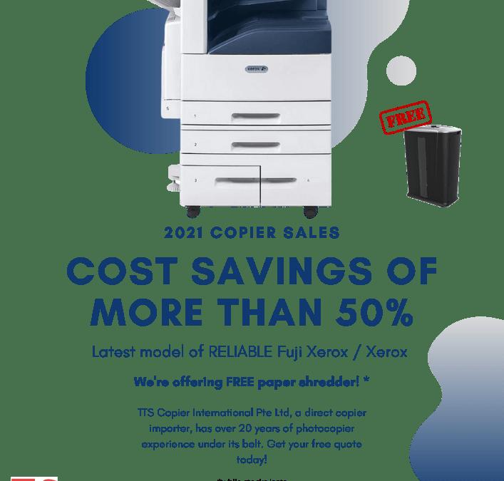 Singapore 2021 Fuji Xerox & Xerox Copier Sales